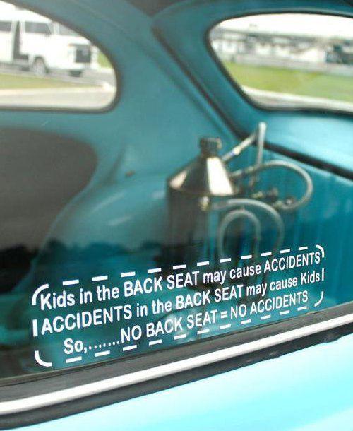 Funny Car Accident Quotes: HA! Funny Bumper Stickers - Mom.me