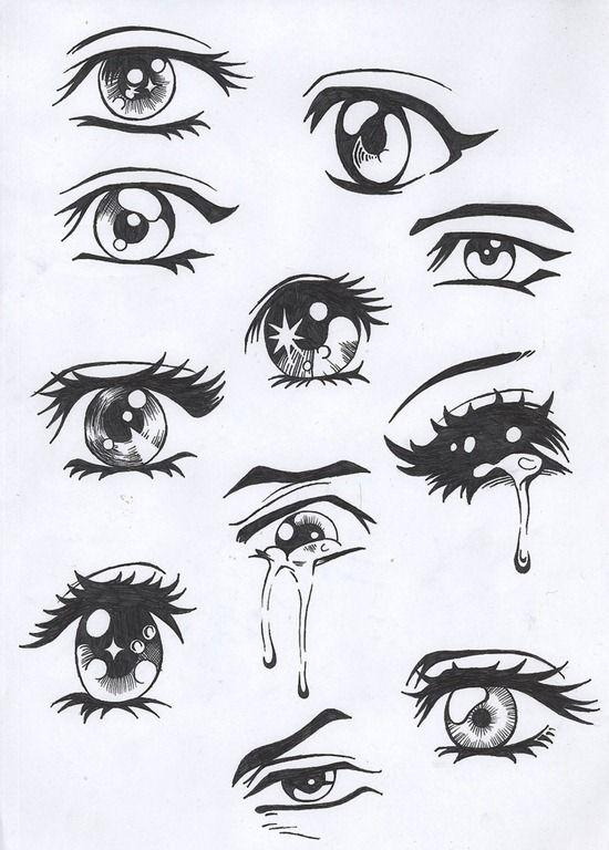 How To Draw Manga Eyes Drawing Pinterest Dessin Manga Et Yeux