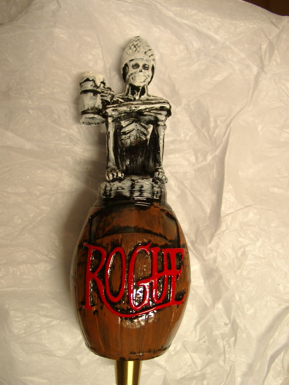 Rogue Dead Guy Ale Tap Handle   Beer   Pinterest   Ale, Beer and ...
