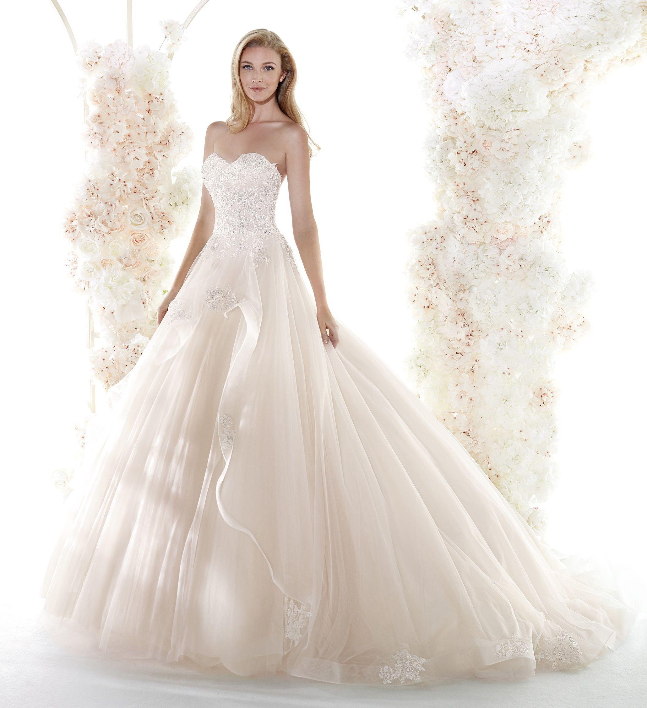 Moda Sposa 2020 Collezione Colet Coa20161 Abito Da Sposa Nicole Wedding Dresses Lace Long Wedding Dresses Wedding Dresses Unique