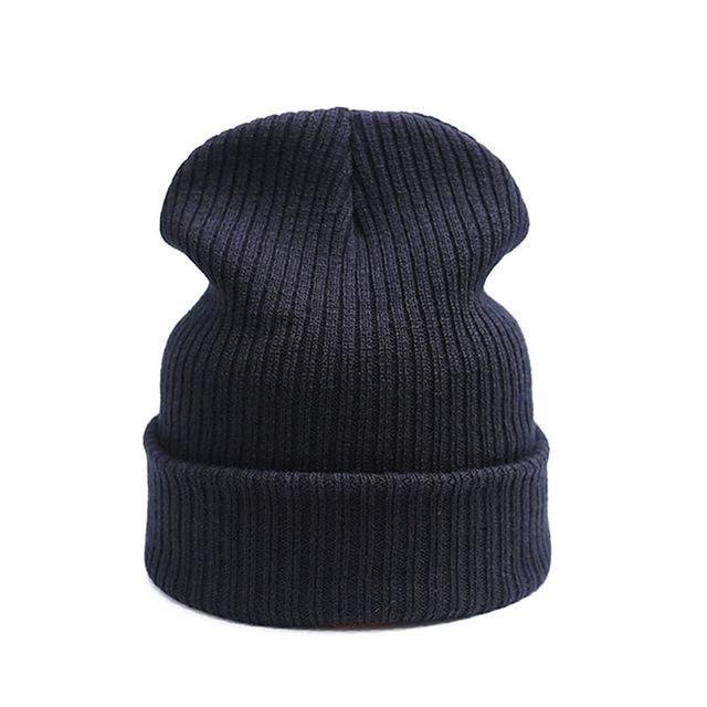 QUDDA Brand Winter Hat For Men Skullies Beanies Fashion Warm Cap Unisex Elasticity  Knit Beanie Hats Drop Shipping f896234f2d14