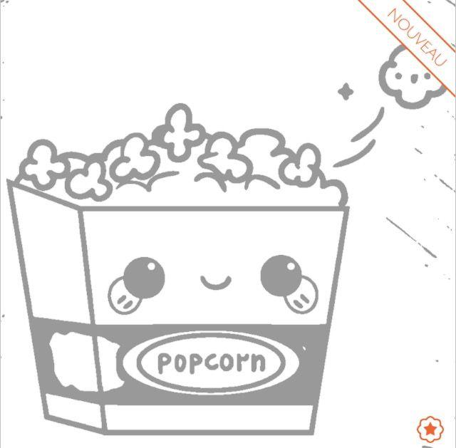 Coloriage Popcorn Kawa 239 Toutes Mes Publications