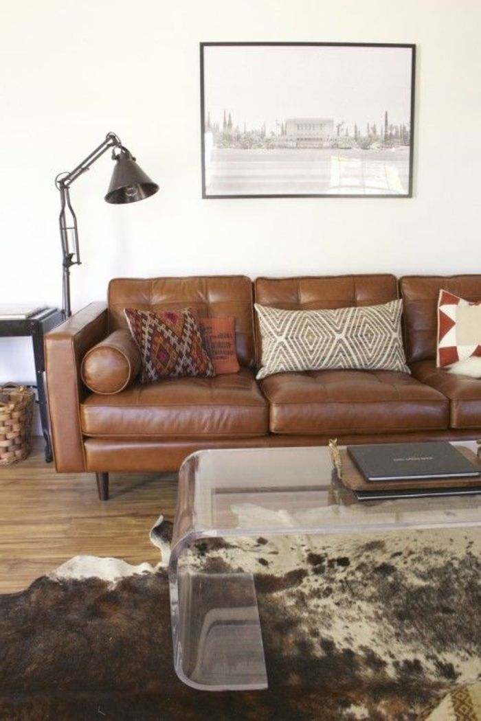 Le canapé club, quel type de canapé choisir pour le salon? | Home ...