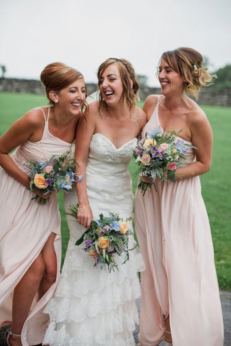 Summer country pastels wedding dress summer httpwww bridesmaid long blush pink bridesmaid dresses summer ombrellifo Images