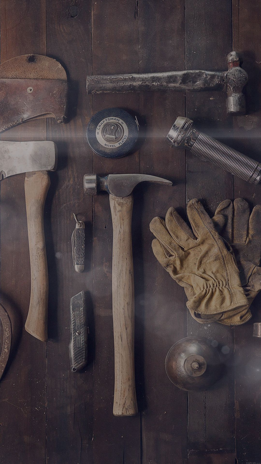 Woodworker Workshop Tools IPhone 8 Wallpaper