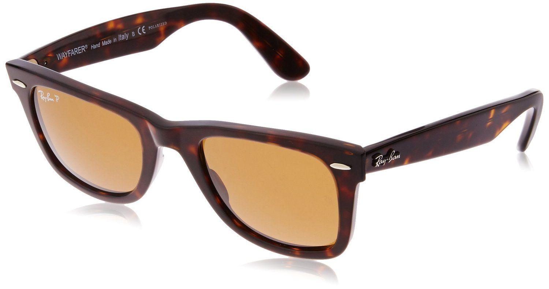 classic wayfarer 50mm polarized sunglasses  RAY BAN 2140 ORIGINAL WAYFARER 902/57 TORTOISE POLARIZED PLASTIC ...