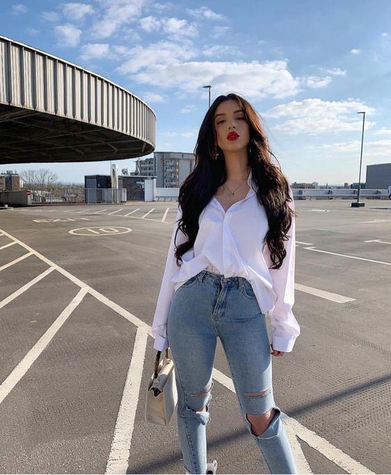8 Dicas Para Deixar o Seu Look Com Calça Jeans Incrível, look com calça jeans, look do dia