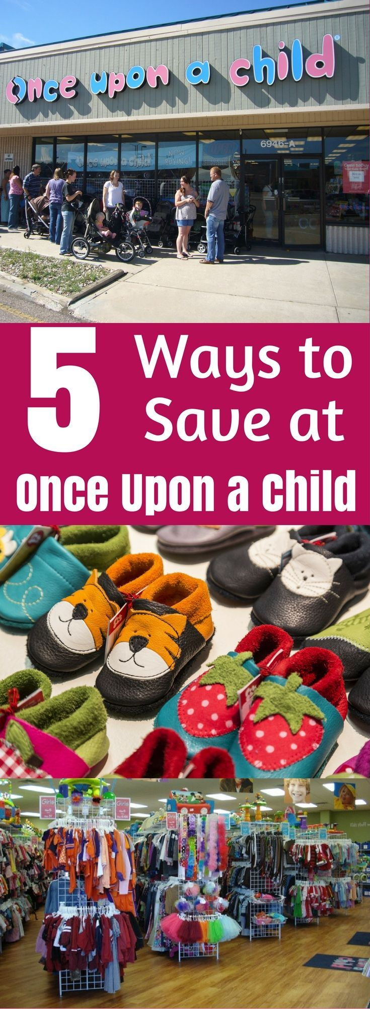5 Ways to Save at Once Upon a Child