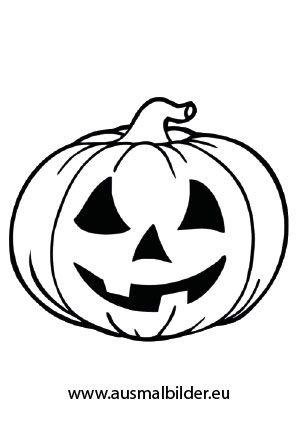 Halloween Ausmalbilder Kürbis Mehr