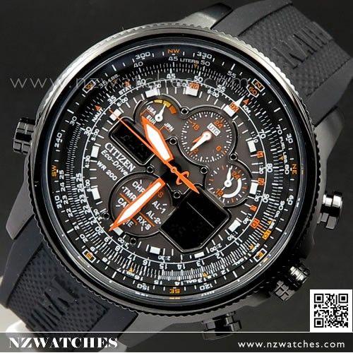 d79afd7549b2 Citizen Eco-Drive Solar Navihawk A-T Atomic Radio Controlled Watch  JY8030-59E