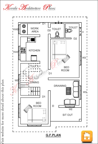 Image Result For House Plan 20 X 50 Sq Ft Open Floor House Plans Indian House Plans 1200 Sq Ft House