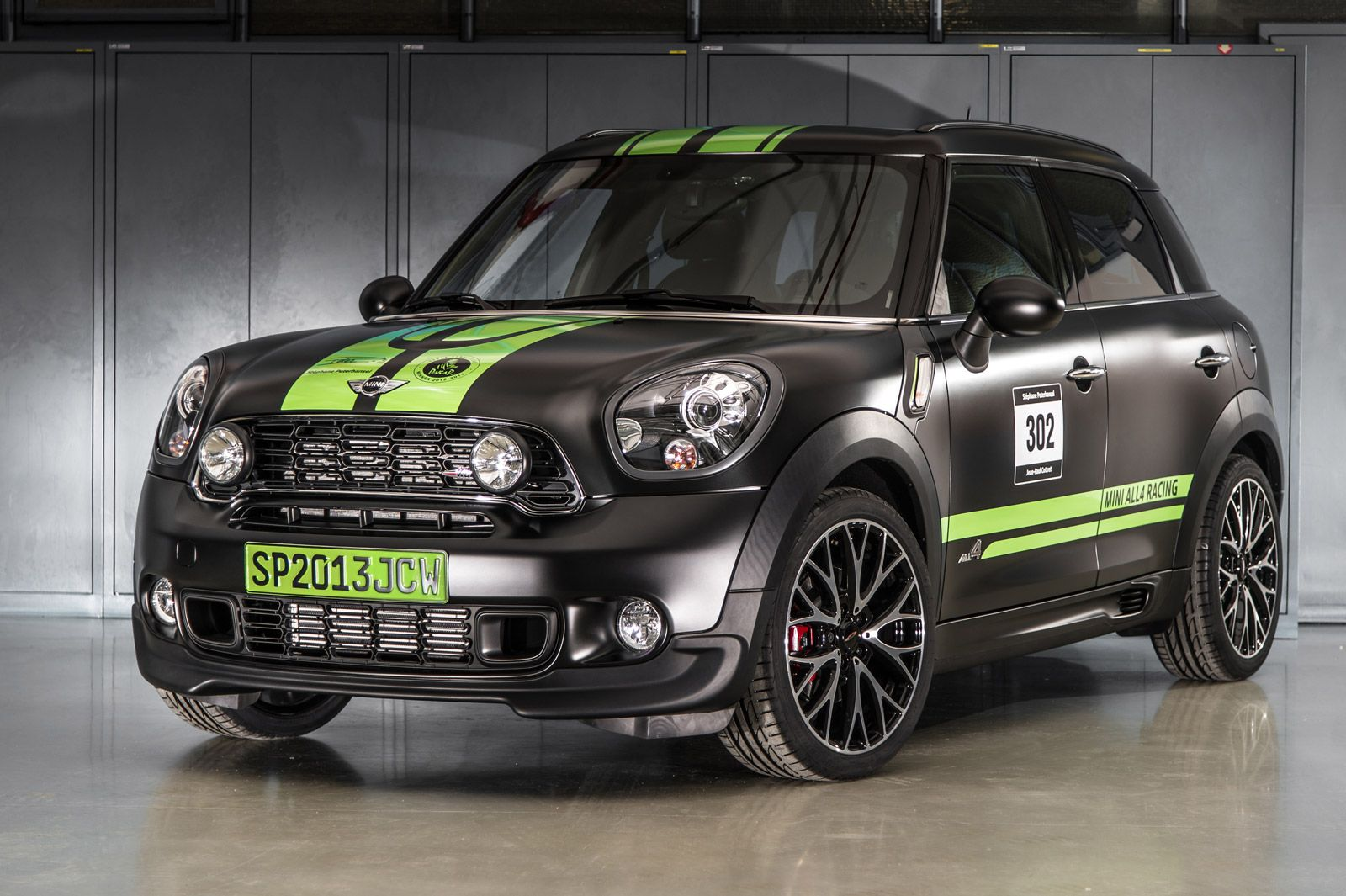 A MINI, albeit a highly-modified one, has been driven to victory ...