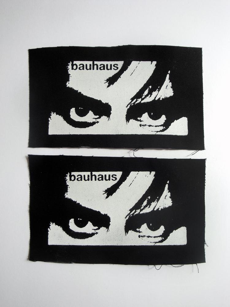 Bauhaus Peter Murphy Eyes Goth Punk Patch - Black, White ...