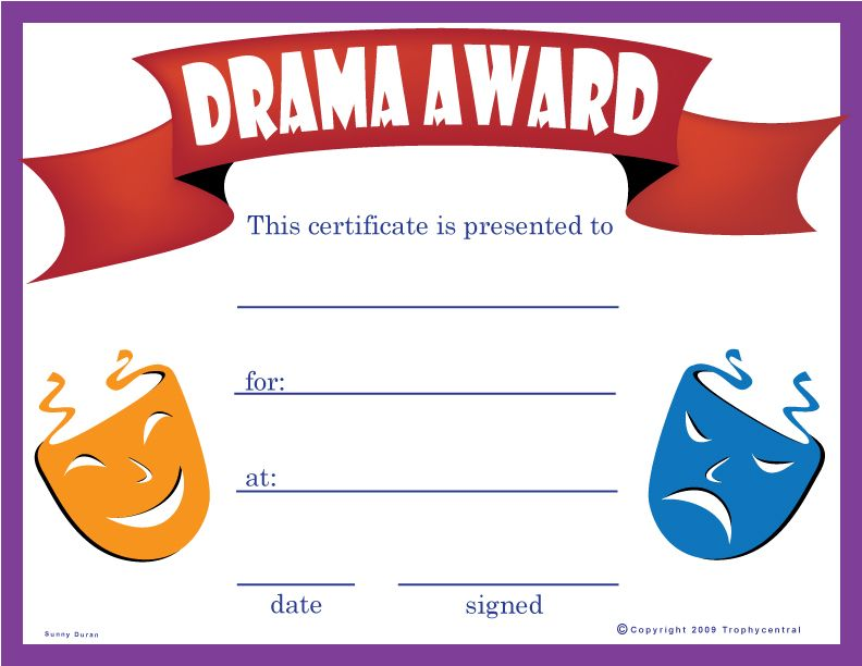 This is a free drama certificate our free certificates are sure this is a free drama certificate our free certificates are sure to be a hit yelopaper Gallery