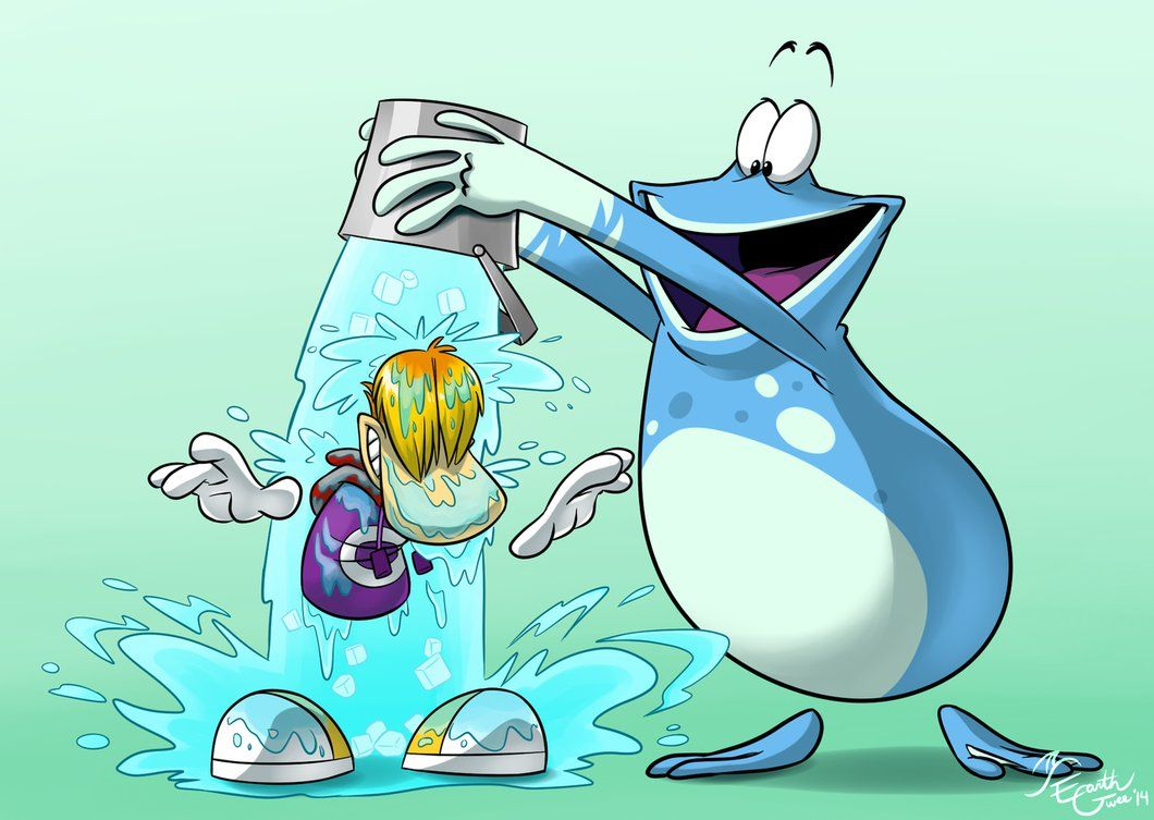Rayman And Globox Ice Bucket Challenge By Earthgwee Rayman