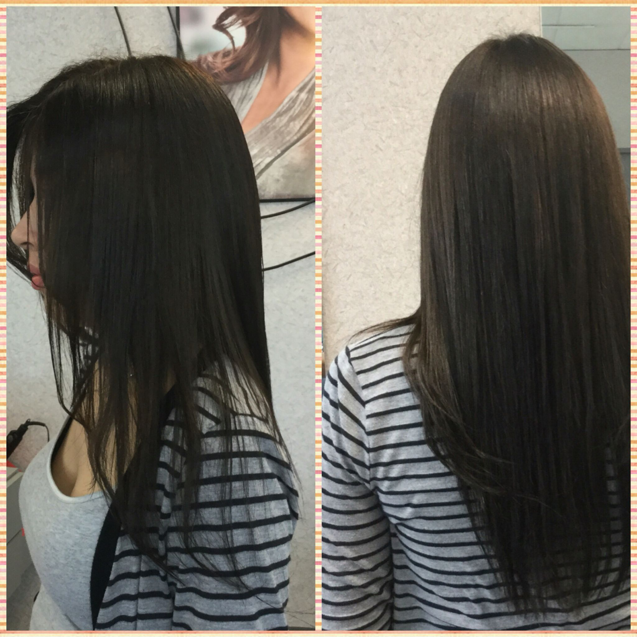 Color Service Long Layer Cut Style With Experience Hair Stylist