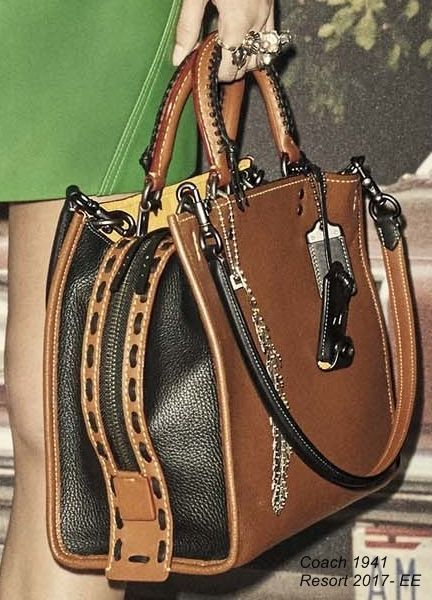 Coach 1941 Resort 2017 Ee Les Hand Bag Leather Handbags Clutch Ad