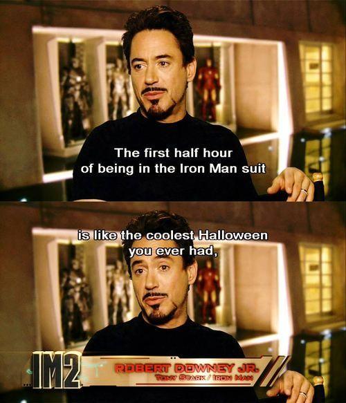 Robert Downey Jr. ..coolest Halloween...