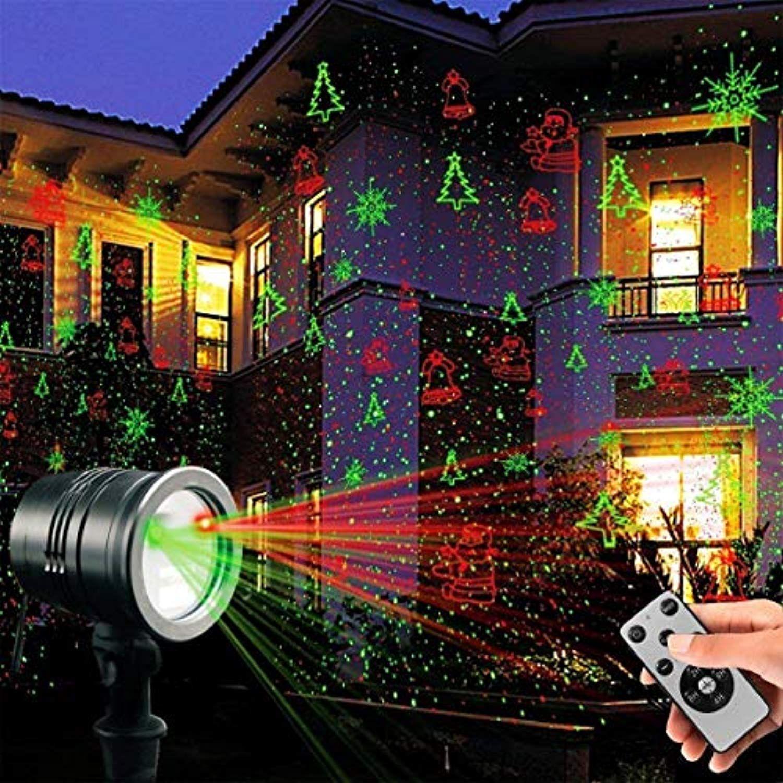 Tofu Proteove Christmas Laser Lights Projector Ip65 Waterproof