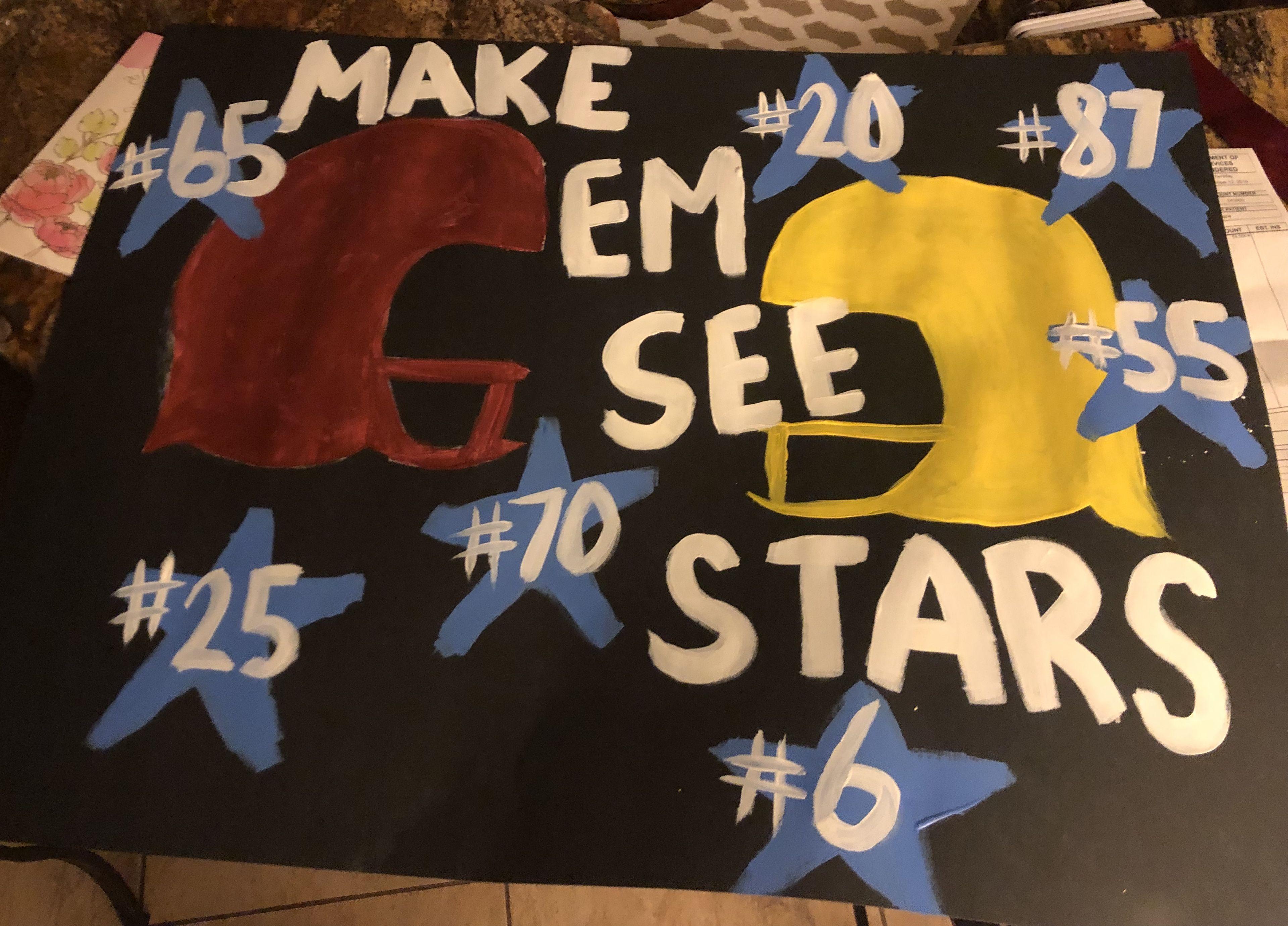 Make Em See Stars Pep Rally Themes School Spirit Posters Pep Rally