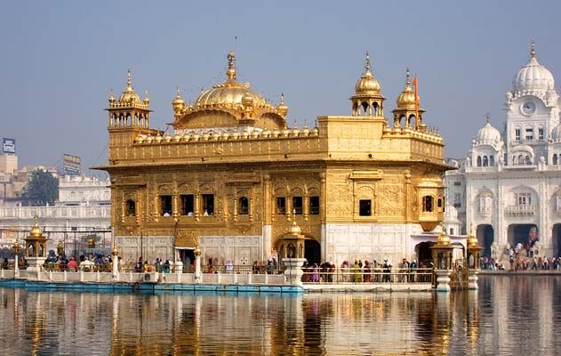 Golden Temple Amritsar Punjab Travel India Travel Travel Destinations