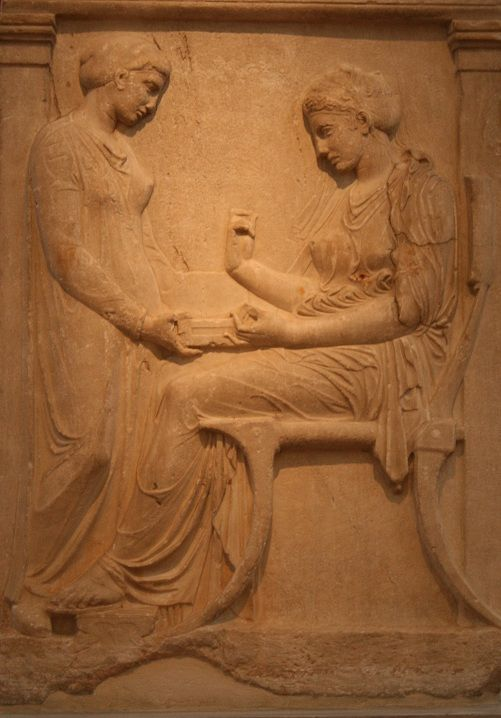 grave stele pentelic marble end of the 3rd century bc national archaeological museum athens lovers art ancient greece sculpture classic sculpture pinterest