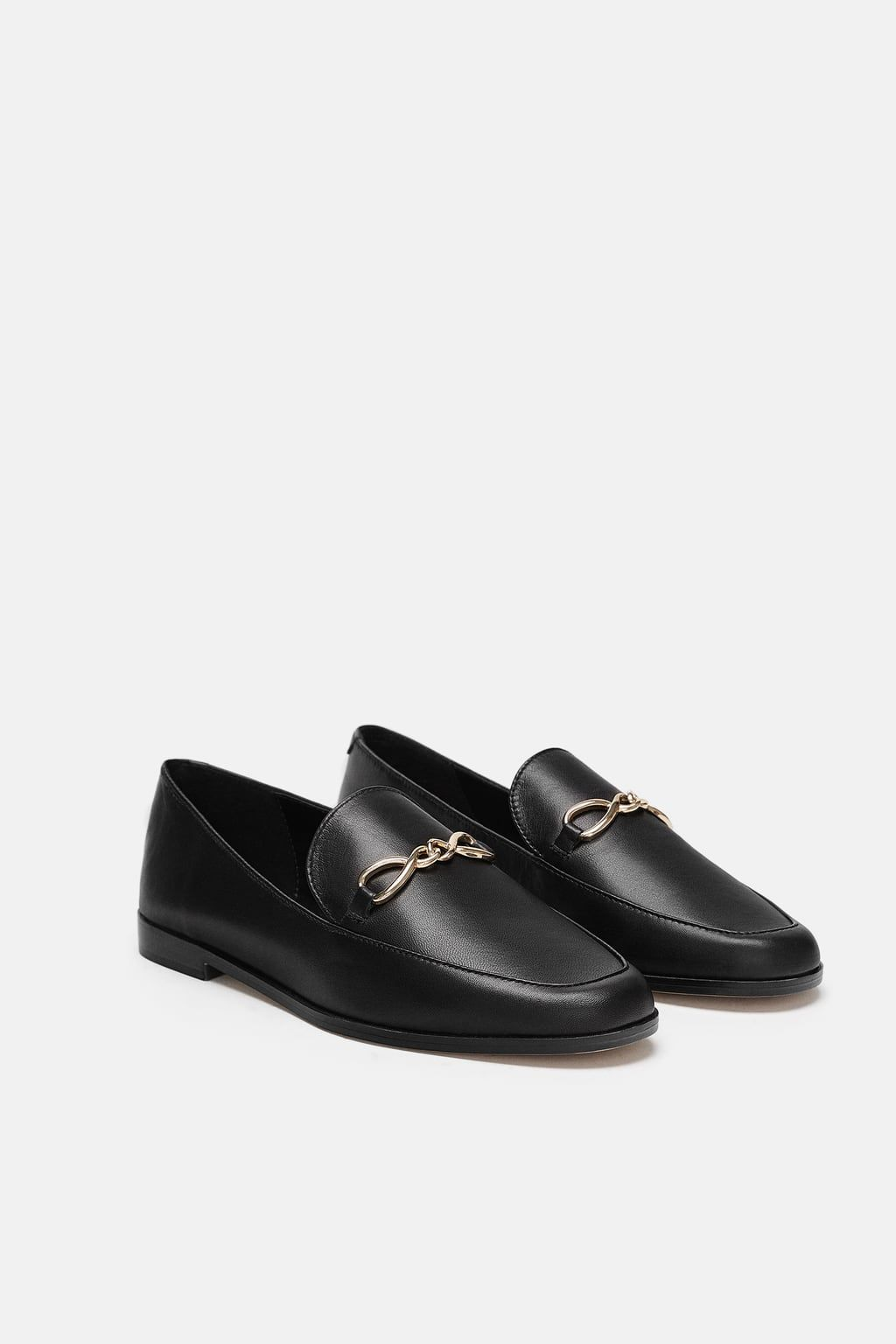 22155d99302f Image 1 of LEATHER LOAFERS from Zara | to buy | Leather loafers ...