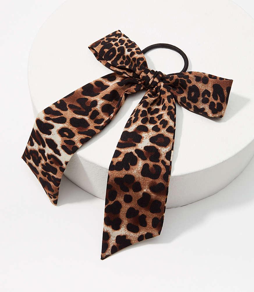 LOFT Leopard Bow Hair Tie #loftclothes