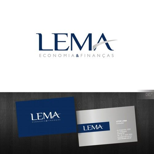 Arte campeã do projeto Lema Consultoria
