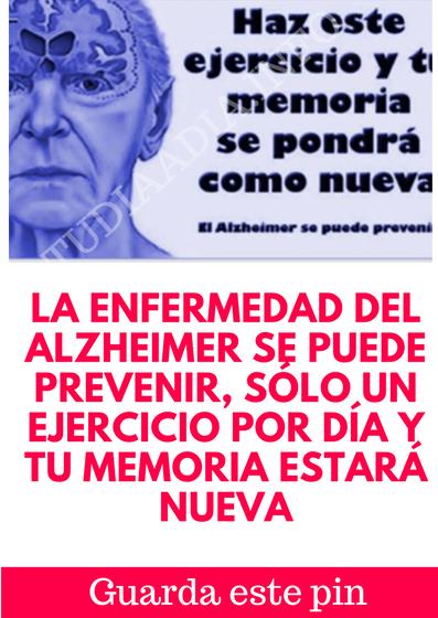 como se previene la enfermedad de alzheimer
