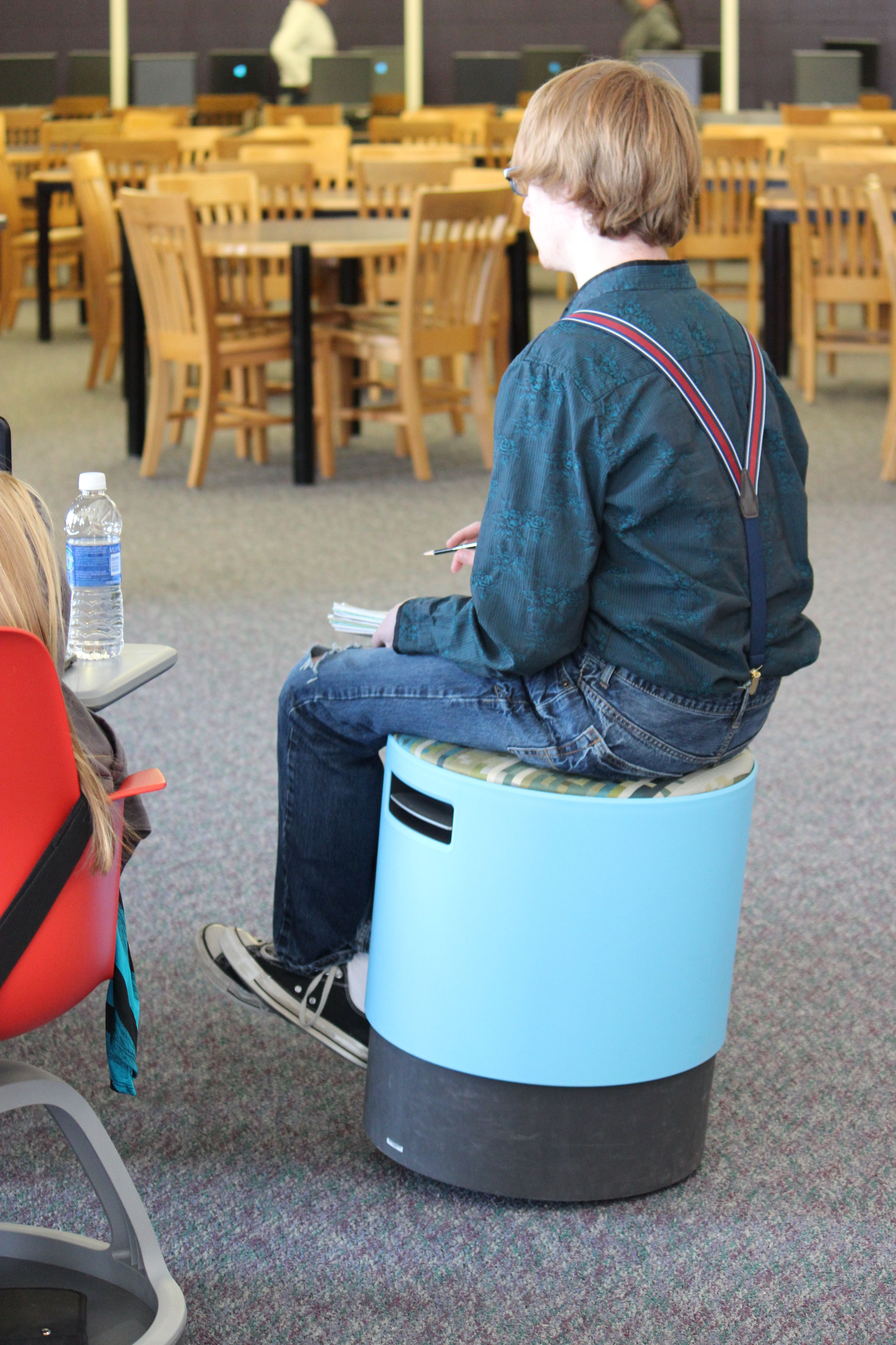 The Turnstone/Steelcase Buoy Chairs Were Very Popular And Respectfully  Used. Great Alternative To Yoga Balls, Which I Have Never Found To Be Clean  Or ...