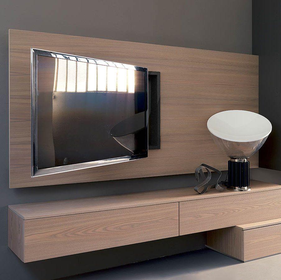 Risultati immagini per pannello porta tv orientabile | Living room ...