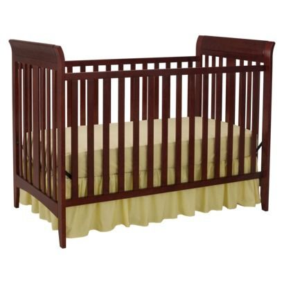Delta Children Rsquo S Parkside 3 In 1 Convertible Crib Cabernet Cribs Convertible Crib Delta Children
