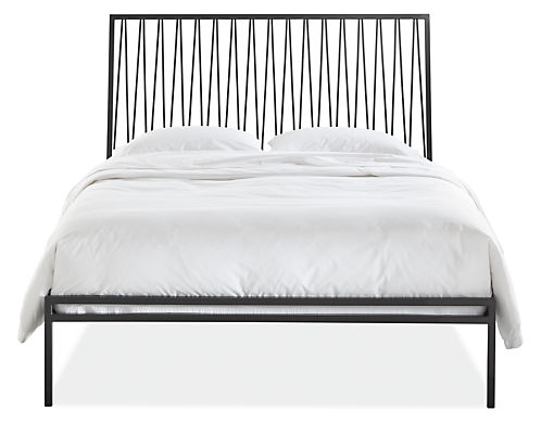 Jennings Beds In Natural Steel Modern Contemporary Beds