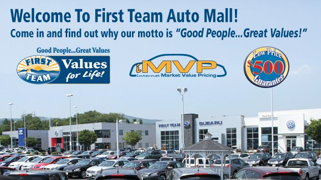 First Team Auto Mall >> Welcome To The First Team Auto Mall Good People Great
