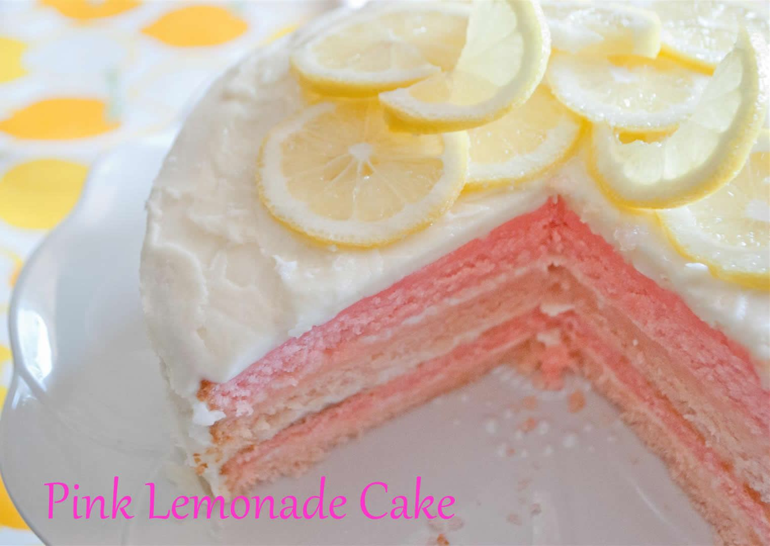 Pink Lemonade Cakes Presentation Mynextcar