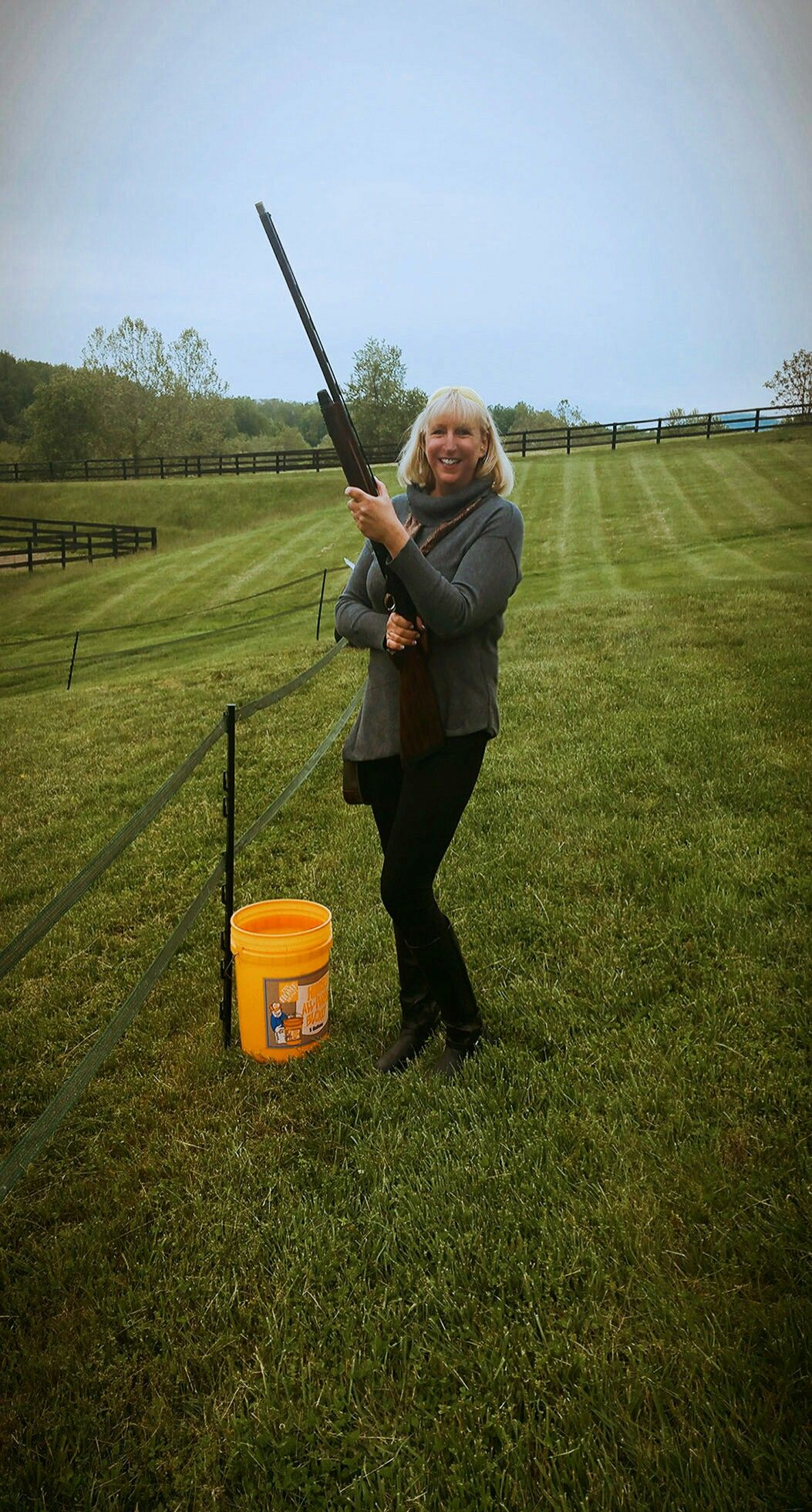 Valley Green Naturals Owner Cindy Lawson Devore Breaking Clays