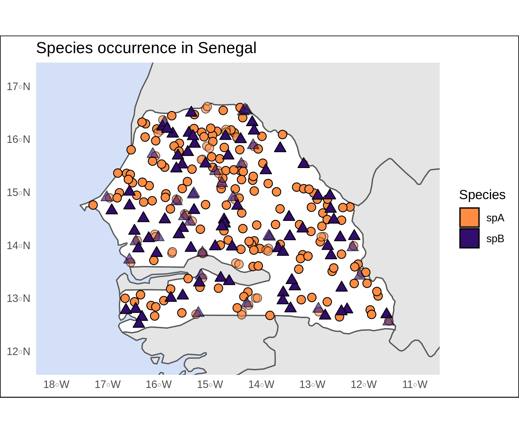 Crisp Spatial Figures With R Ggplot2 And Sf