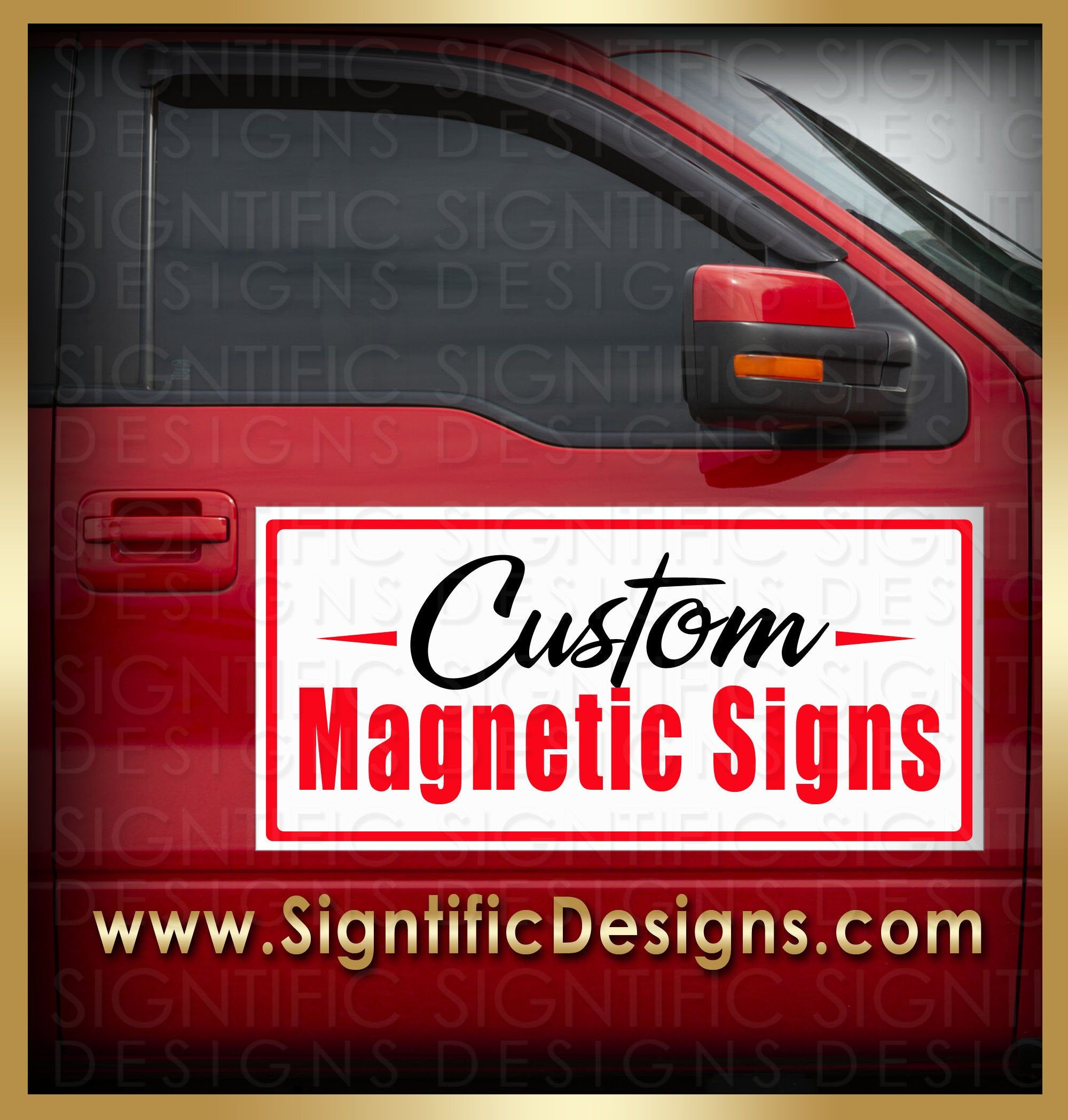 Custom Magnetic Signs Car Magnets Vehicle Signs Car Door