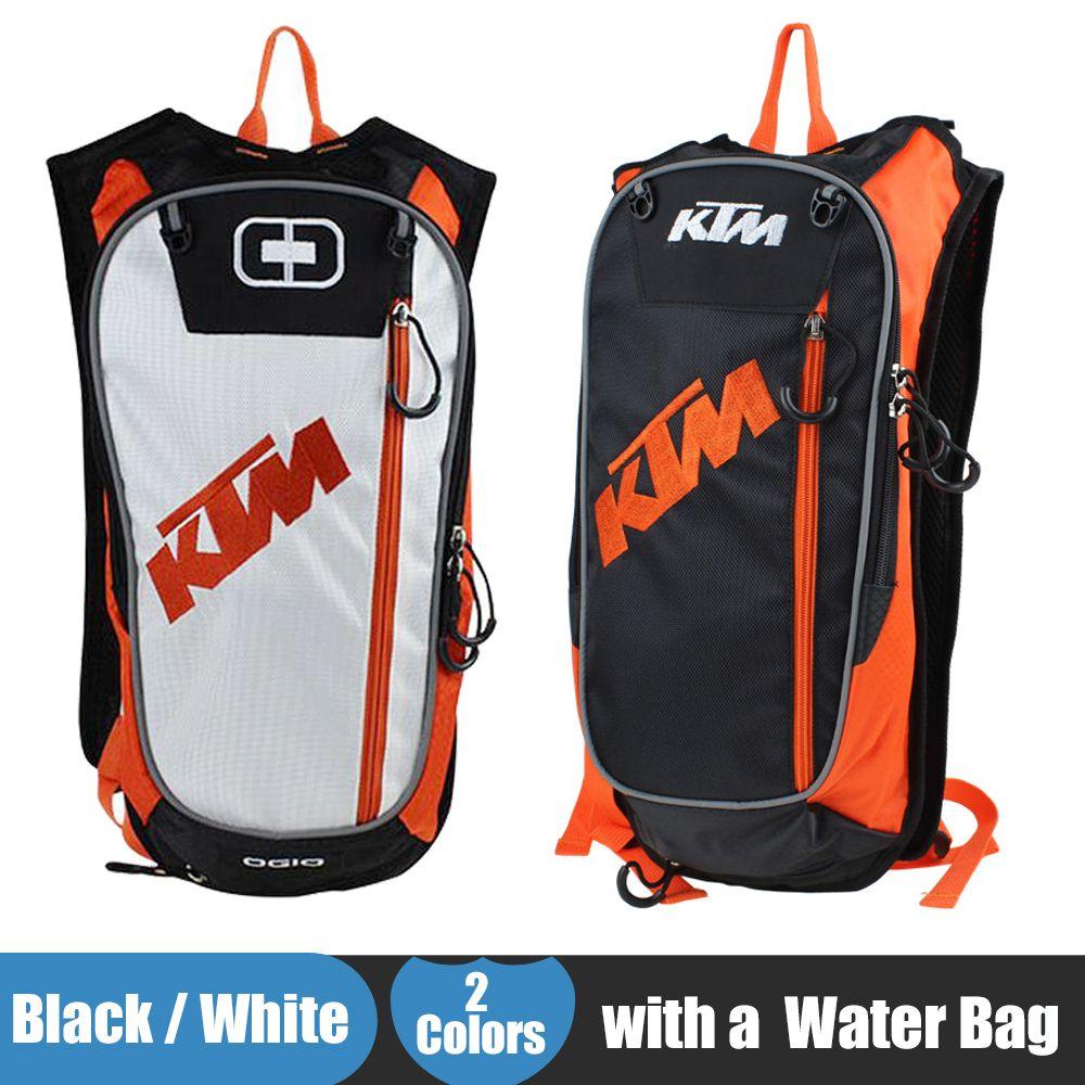 neue ktm motorrad tasche motocross offroad racing rucksack mit tpu wasserbeutel fahrrad sport. Black Bedroom Furniture Sets. Home Design Ideas