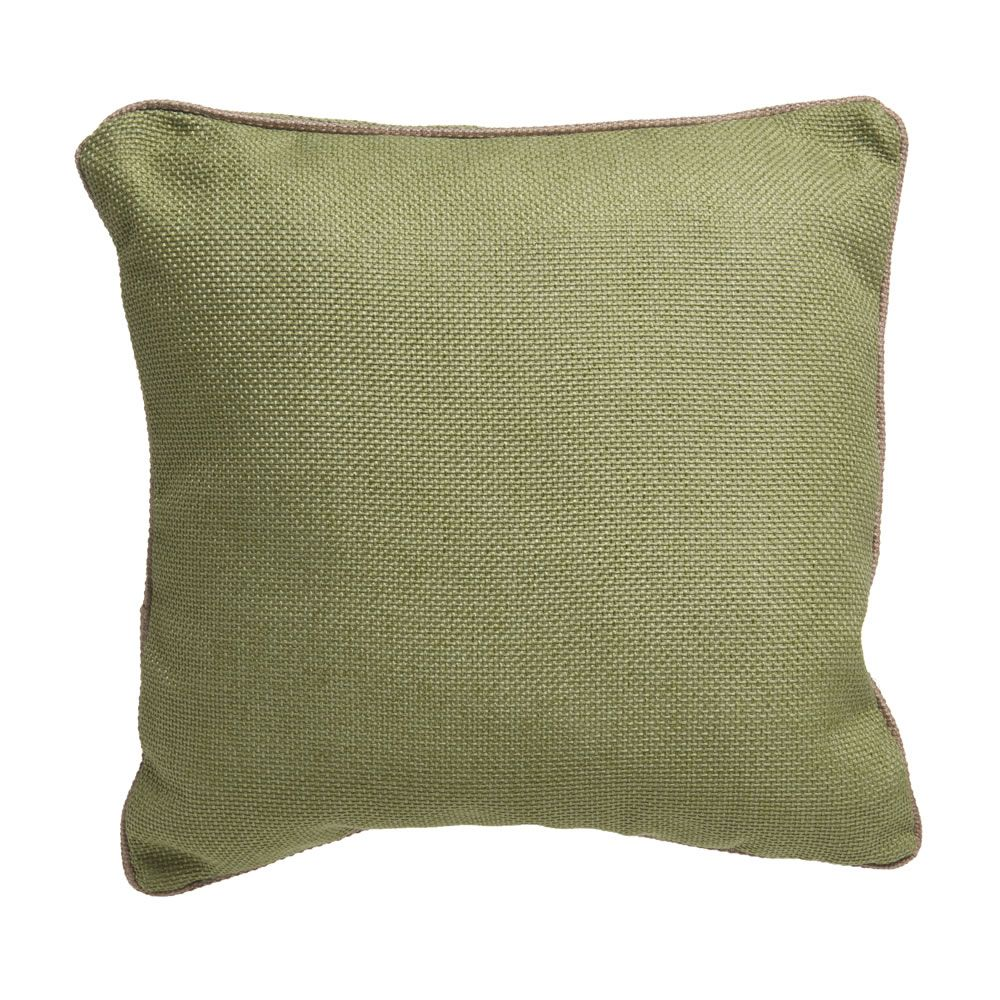 Wilko Green Weave Cushion 43x43cm Throw pillows, Wilko