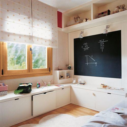 cuarto-juego-pizarra-el-mueble   Casa   Pinterest   Decorar ...