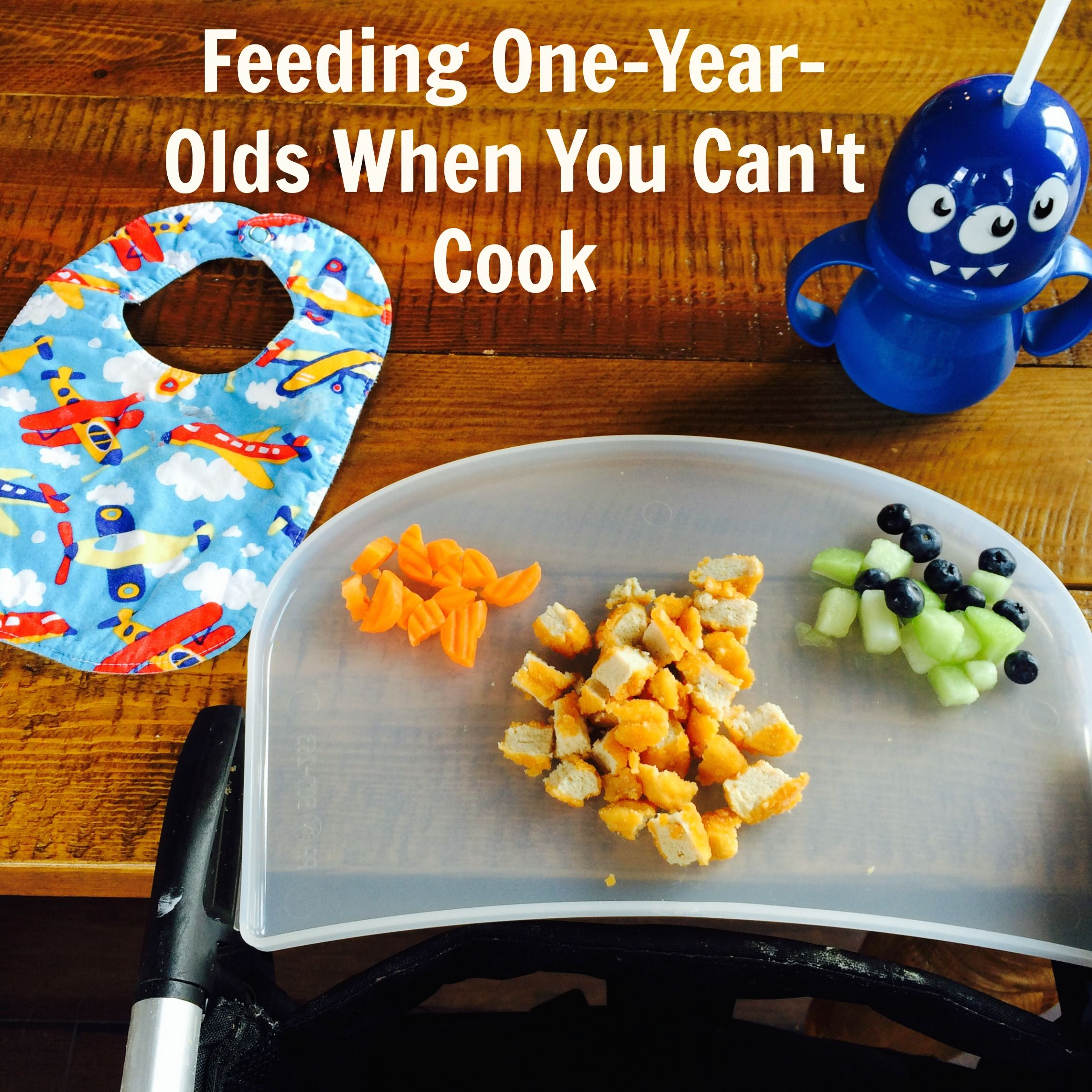 Feeding One-Year-Olds When You Can't Cook