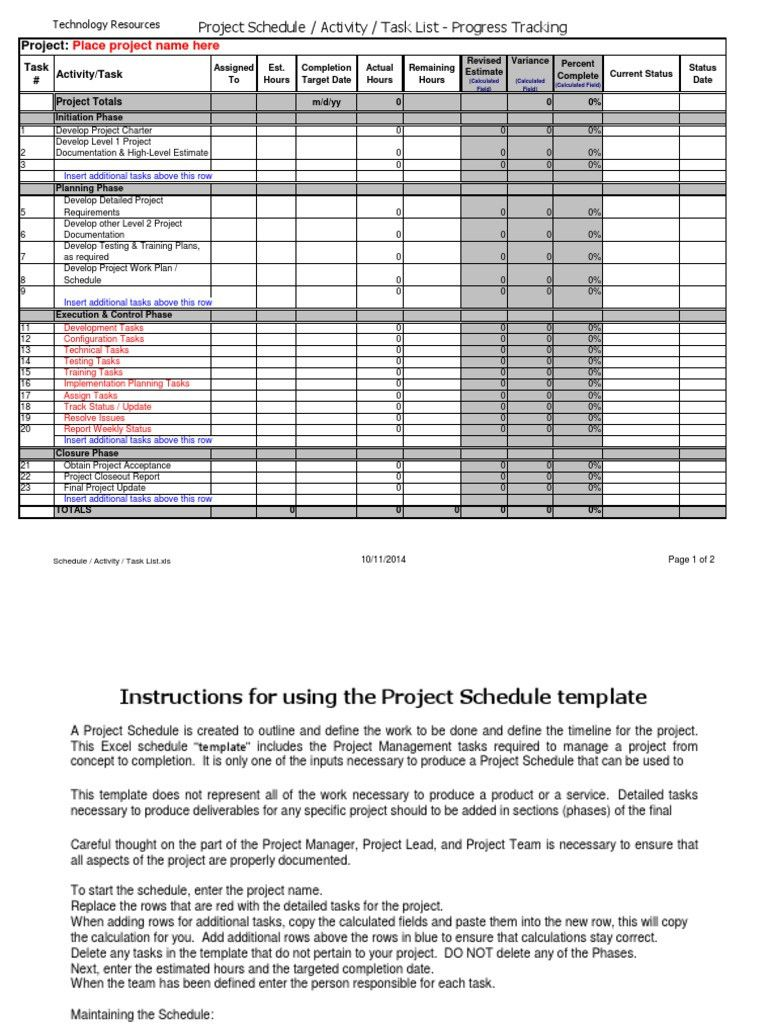 Project Implementation Plan Template Excel Beautiful Project Simple Schedule Template Microsoft Excel How To Plan Implementation Plan Event Planning Quotes Simple project implementation plan template