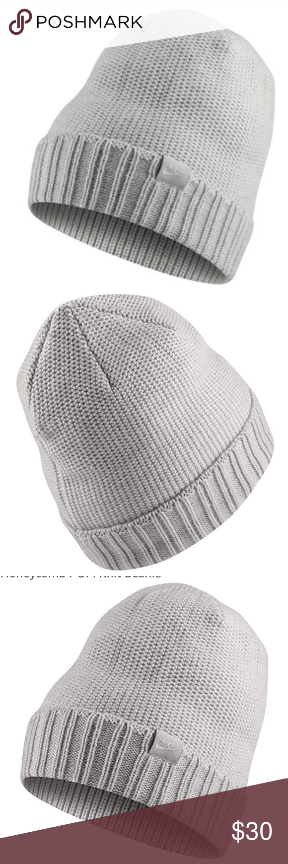 6f74e0f8563 New NIKE Unisex Knit Beanie Hat Featuring a Soft Knit Fabric