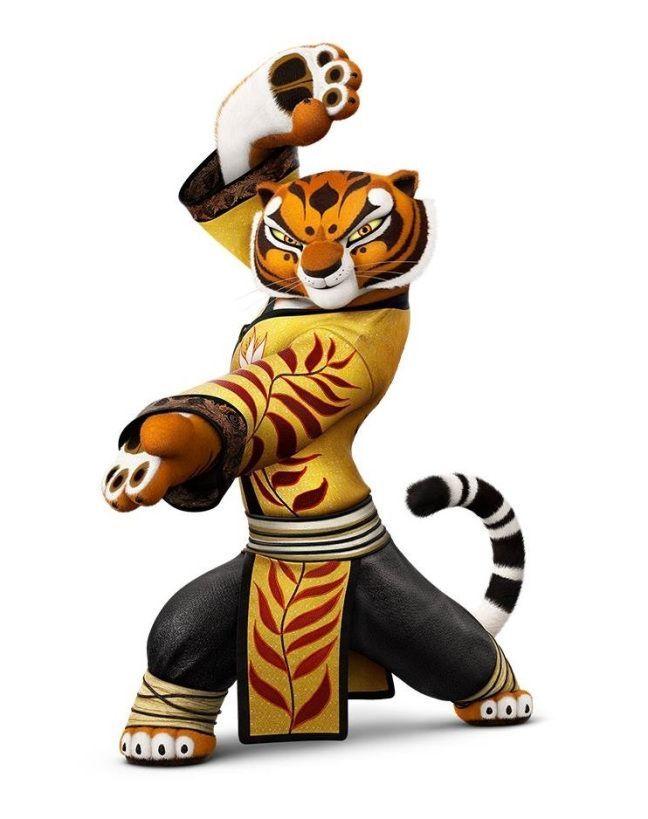 Tigress Kung Fu Panda Characters / Po Master Shifu Oogway