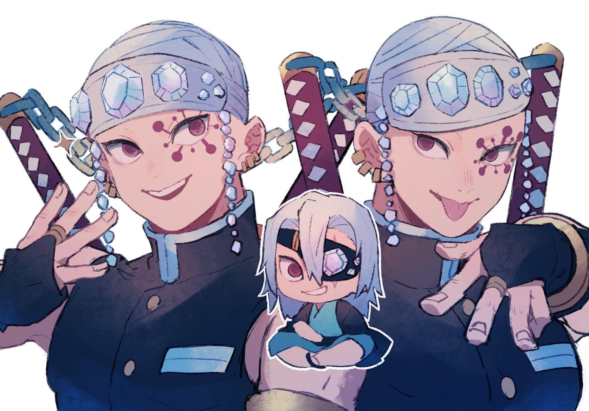 Uzui Tengen Fanart Uzui Tengen Fanart In 2020 Slayer Anime Anime Demon Anime Yandere pillars (pt.1) | kny uzui tengen, mitsuri kanroji, giyuu tomioka, sanemi shinazugawa, kyoujurou rengoku part 2 slayer anime anime demon anime