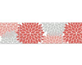 Best Home Decor Wall Art 12X12 Or 8X8 Coral Bedroom By 400 x 300