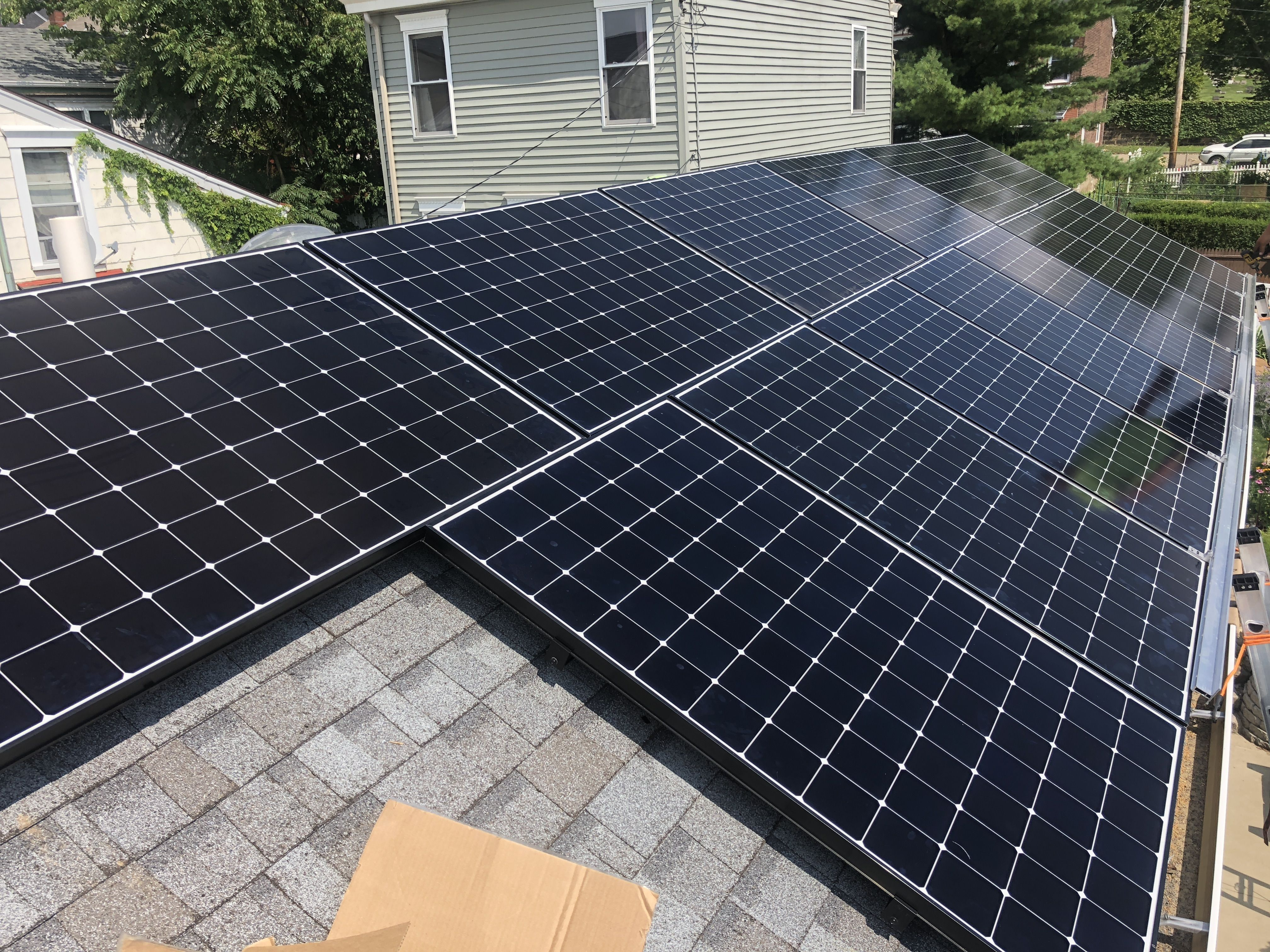 This New System Was Installed In Lawrenceville It Has The Capability To Produce Over 5 800 Kwh Annually Based On Total U Solar Solar Panels Residential Solar