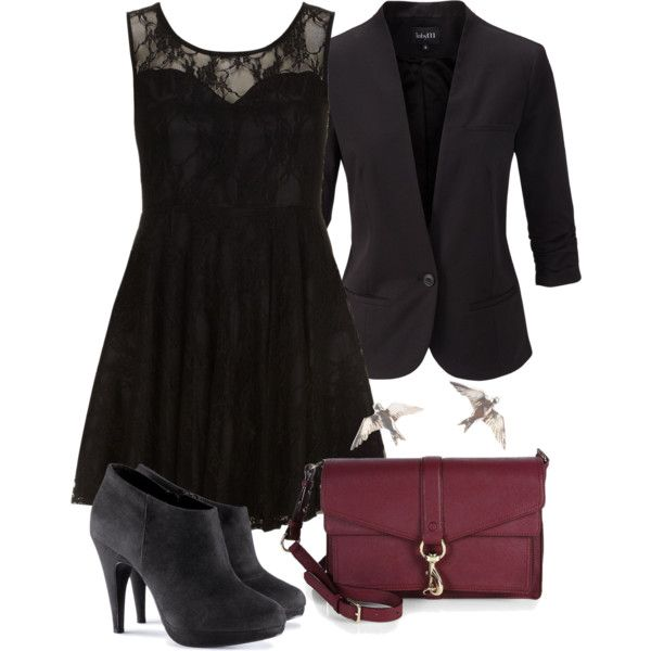 Allison Inspired Funeral Outfit by veterization on Polyvore featuring moda,  Dorothy Perkins, mbyM,
